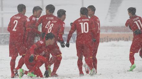 PVN và đạm Phú Mỹ thưởng nóng đội tuyển U23 Việt Nam