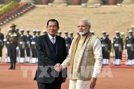 Ấn Độ, Campuchia ký 4 thỏa thuận hợp tác