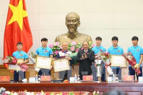Hãy có tinh thần tiến công trong phát triển đất nước quyết liệt như đội U23 Việt Nam