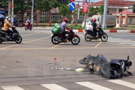 Tai nạn giao thông trên Quốc lộ 1A làm 3 người bị thương nặng