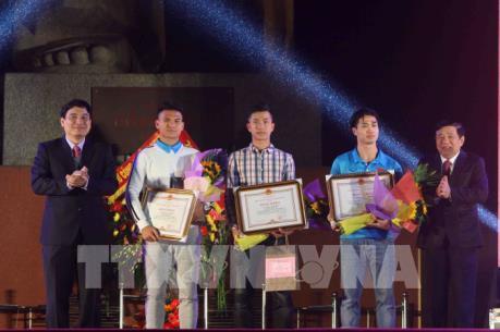 Xứ Nghệ vinh danh các cầu thủ U23 Việt Nam