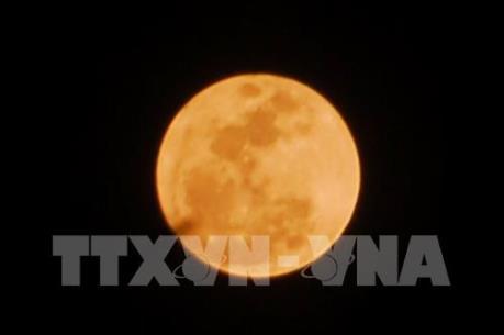 Người dân Việt Nam có thể ngắm siêu trăng cực đại lúc 20h29 tối nay