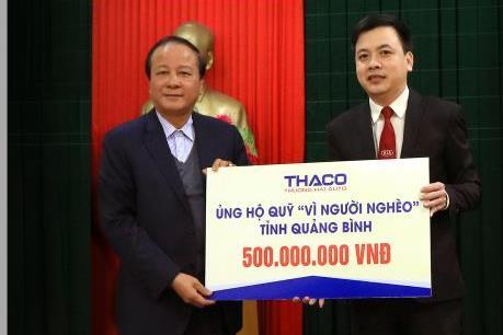 Thaco ủng hộ 25 tỷ đồng cho người nghèo ăn Tết