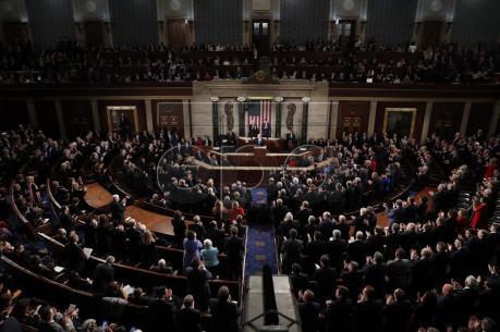 Hạ viện Mỹ thông qua dự luật chi tiêu tạm thời