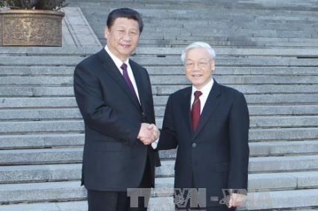 Tổng Bí thư Nguyễn Phú Trọng và Chủ tịch Tập Cận Bình gửi Thư chúc mừng Năm mới Mậu Tuất