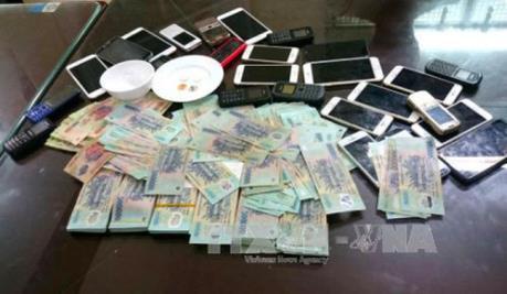 Phú Yên triệt phá đường dây tổ chức đánh bạc qua mạng internet