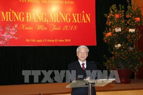 Tổng Bí thư Nguyễn Phú Trọng: Đồng lòng, tiếp tục vững bước trên con đường đổi mới