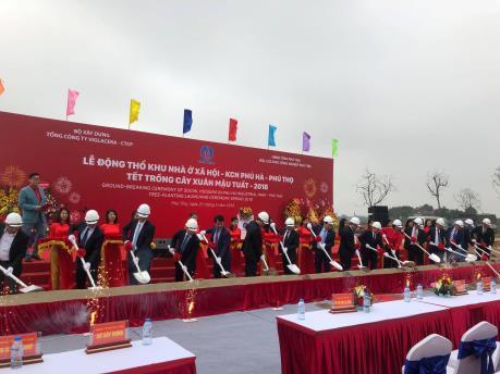 Viglacera đầu tư 480 tỷ đồng xây nhà ở công nhân KCN Phú Hà