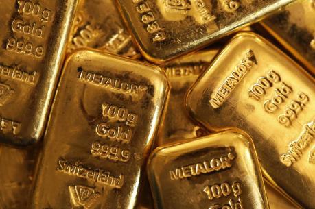 Giá vàng nhích lên trên thị trường châu Á