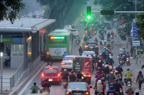 Hà Nội nghiên cứu phân làn, khai thác hiệu quả tuyến buýt nhanh BRT