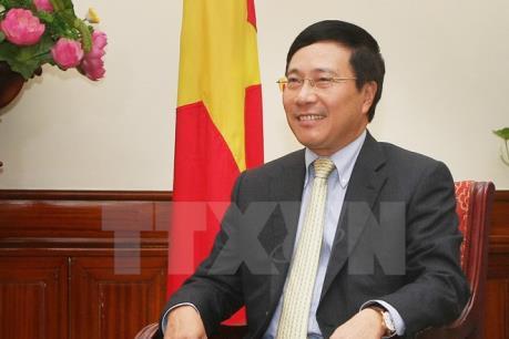 Phó Thủ tướng Phạm Bình Minh tiếp Giám đốc Điều hành Trung tâm Thương mại Quốc tế