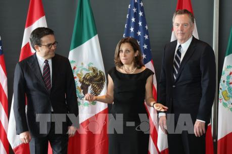 Mỹ để ngỏ khả năng miễn thuế thép và nhôm nhập khẩu từ Canada, Mexico sau NAFTA mới