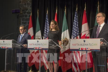 Đàm phán lại NAFTA đạt nhiều tiến bộ