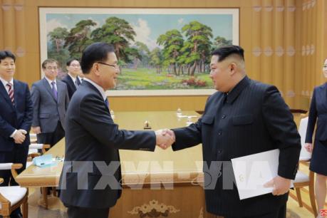 Nhà lãnh đạo Triều Tiên Kim Jong-un cam kết chuẩn bị cho cuộc gặp thượng đỉnh liên Triều