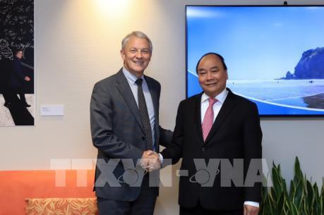 Thủ tướng Nguyễn Xuân Phúc gặp Thị trưởng thành phố Auckland, New Zealand