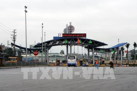 Từ 14/3, giảm giá sử dụng dịch vụ đường bộ qua trạm BOT Biên Cương