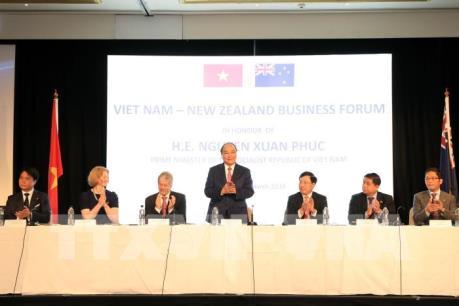 Thủ tướng Nguyễn Xuân Phúc dự Diễn đàn Doanh nghiệp Việt Nam - New Zealand