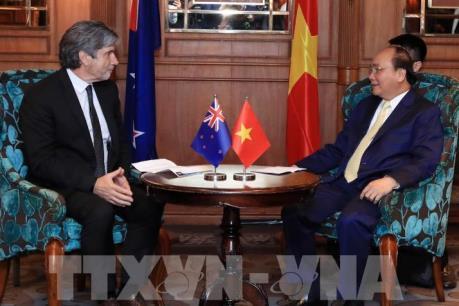Thủ tướng Nguyễn Xuân Phúc tiếp các doanh nghiệp New Zealand