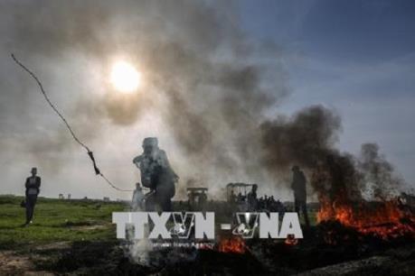 Nổ gần đoàn xe chở Thủ tướng Hamdallah tại Dải Gaza