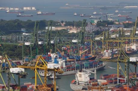 Singapore: Kim ngạch xuất khẩu sụt giảm mạnh nhất kể từ cuối năm 2016