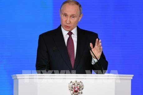 Tổng thống Nga Putin kêu gọi người dân đi bỏ phiếu cho tương lai nước Nga