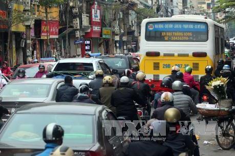 Chất lượng không khí ở Hà Nội bị suy giảm