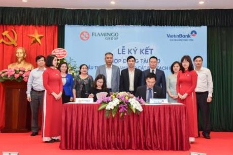 VietinBank Phúc Yên và Flamingo Group ký kết hợp đồng trị giá 1.500 tỷ đồng