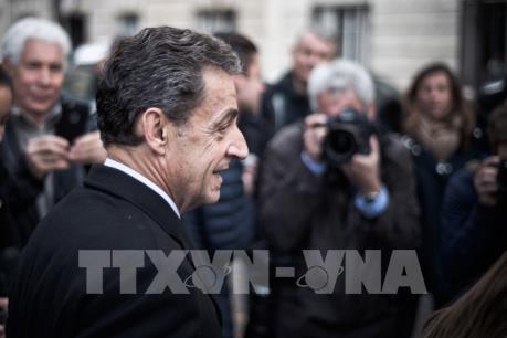 Pháp chính thức điều tra cựu Tổng thống Sarkozy nhận tiền bất hợp pháp