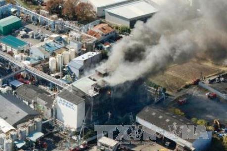 Nổ tại nhà máy hóa chất, ít nhất 6 người chết