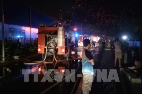 Cháy chung cư cao cấp Carina Plaza: Cửa ngăn cháy bị chèn đá, chuông báo cháy không kêu