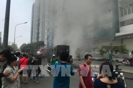 Công điện của Thủ tướng chỉ đạo khắc phục hậu quả vụ cháy chung cư Carina Plaza