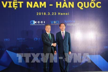 Tương lai quan hệ hợp tác Việt Nam - Hàn Quốc phụ thuộc sự năng động doanh nhân hai nước