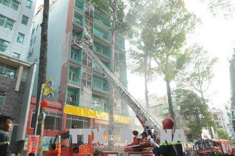 Lại cháy tại khách sạn 8 tầng ở Thành phố Hồ Chí Minh