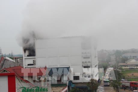 Vụ cháy quán Karaoke ở Hà Tĩnh: Sơ tán người dân khu vực xung quanh