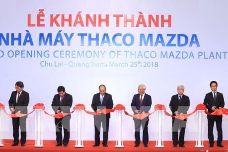 Thành công giữa Mazda và Thaco đóng góp lớn vào sự hợp tác Việt Nam – Nhật Bản