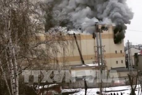Cháy trung tâm thương mại ở Nga: 69 người vẫn đang mất tích