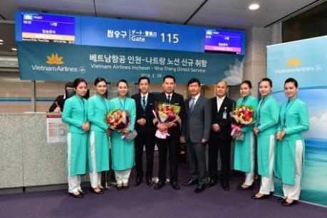 Vietnam Airlines khai trương đường bay Nha Trang - Seoul
