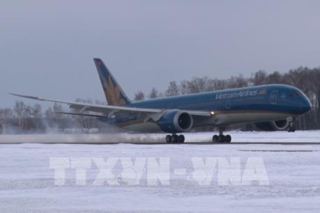 Vietnam Airlines đưa máy bay thế hệ mới vào khai thác chặng Hà Nội-Moskva