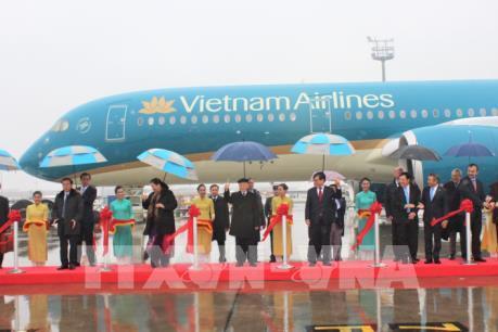 Tổng Bí thư Nguyễn Phú Trọng dự lễ bàn giao máy bay A350 cho Vietnam Airlines