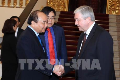 Thủ tướng Nguyễn Xuân Phúc tiếp Phó Thủ tướng Belarus