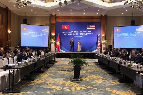 Lần đầu tiên diễn ra đối thoại an ninh năng lượng Việt Nam - Hoa Kỳ