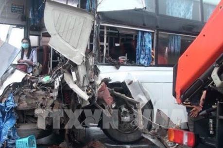 Xử lý khách quan vụ tai nạn giữa xe cứu hỏa và xe khách trên cao tốc Pháp Vân – Cầu Giẽ