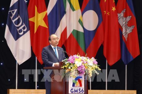 Phiên họp toàn thể Hội nghị Thượng đỉnh hợp tác Tiểu vùng Mekong mở rộng lần thứ 6