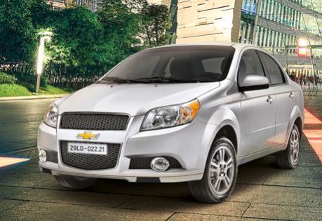 Bảng giá xe Chevrolet của GM Việt Nam tháng 4/2018