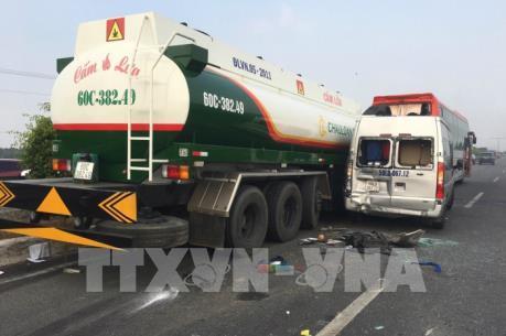 Nguyên nhân gây tai nạn liên hoàn trên cao tốc TPHCM – Long Thành – Dầu Giây