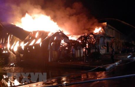 Bình Dương: Kịp thời khống chế vụ cháy tại Công ty TNHH RK