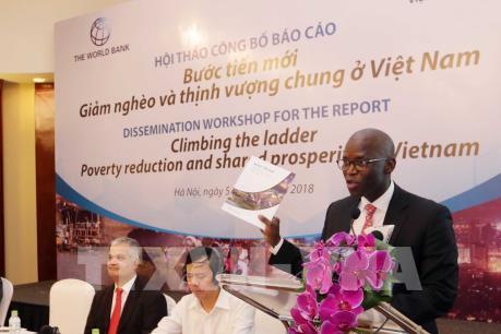 """Công bố Báo cáo """"Bước tiến mới: Giảm nghèo và thịnh vượng chung ở Việt Nam"""""""