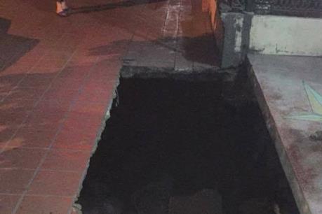 Quảng Ninh: Sụt lún đất ở thành phố Cẩm Phả