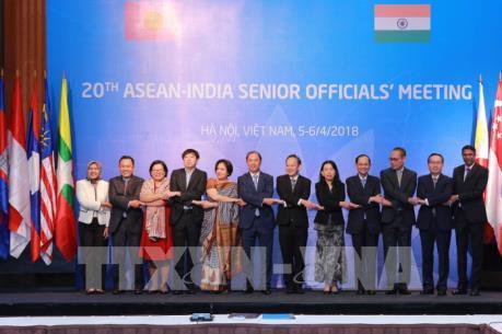 Cuộc họp các Quan chức cao cấp ASEAN-Ấn Độ lần thứ 20