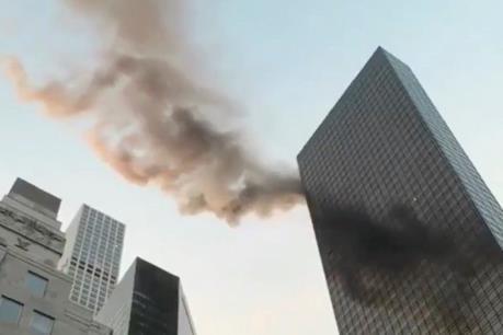 Mỹ: Cháy lớn tại Tháp Trump